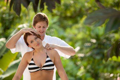 Schmerzen in der Schulter & Schmerzen im Nacken