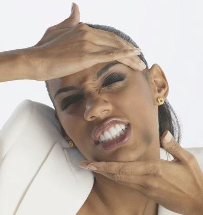 Kiefergelenk-Beschwerden